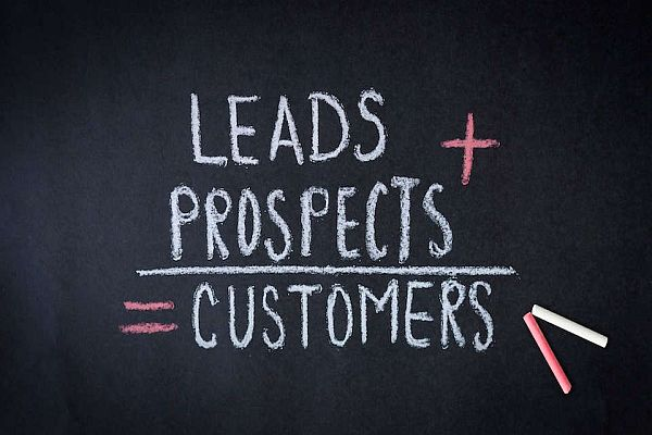 Leads plus Prospects Equal Customers