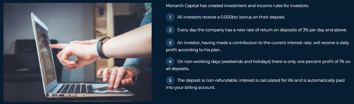 Monarch Capital overview